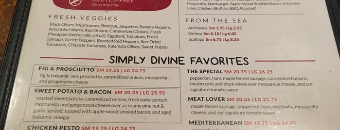 Simply Divine Pizza Co. is one of Good Eats in New England.