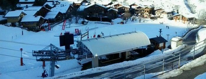 Montchavin is one of Stations de ski (France - Alpes).
