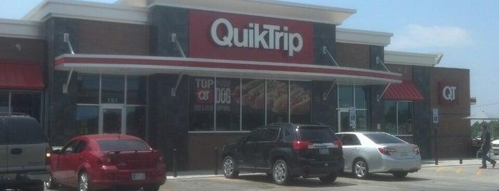 QuikTrip is one of Claremore.