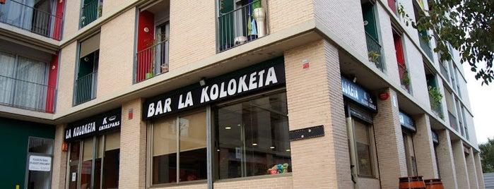 La Koloketa is one of A comer y a beber.