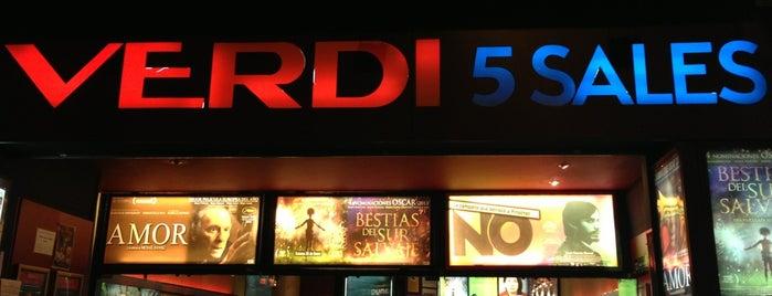 Cinemes Verdi is one of My Barcelona!.