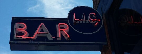 LIC Bar is one of The Best Places to Warm Up on a Winter Day.