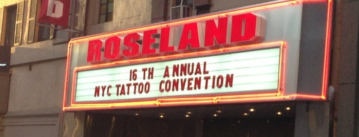 Roseland Ballroom is one of places.