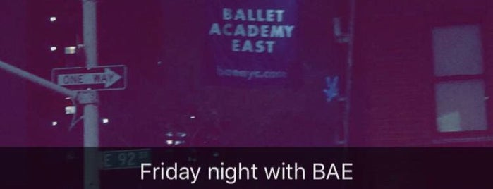 Ballet Academy East is one of NYC Manhattan East 65th St+.