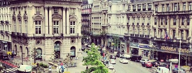 Place De Brouckère is one of Brussels Spots #4sqCities.