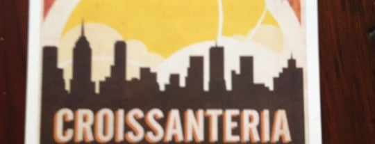 Croissanteria is one of Espresso - Manhattan < 23rd.