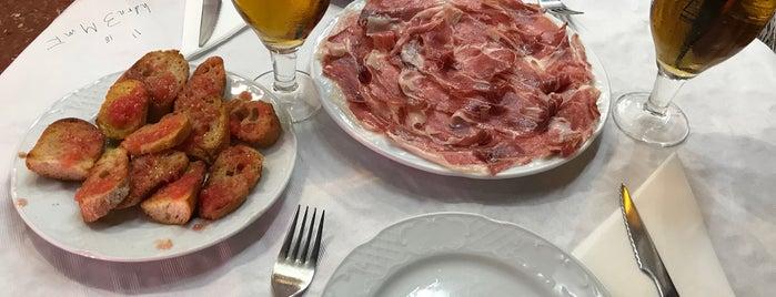Restaurant Els Barrils is one of Spain.