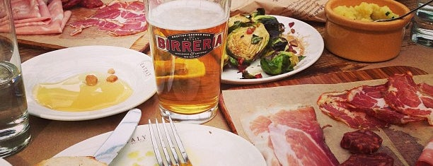 Birreria at Eataly is one of NYC.