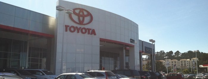 City Toyota is one of Stacey and Me.