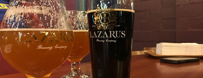 Lazarus Brewing Company is one of Austin!.