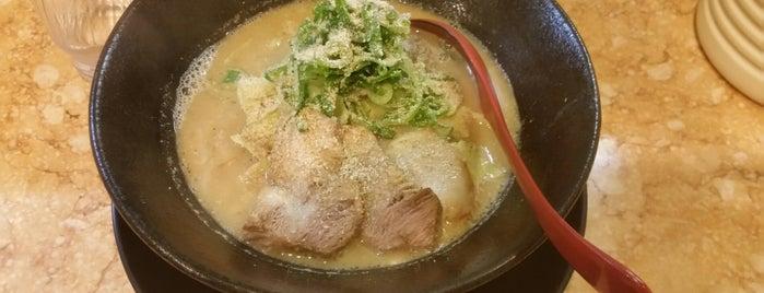 麺爺 咲兆 is one of 兎に角ラーメン食べる.