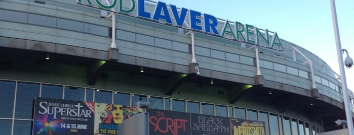 Rod Laver Arena is one of Musical Melbourne.