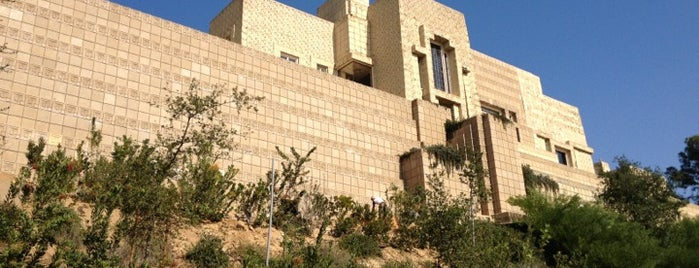 Ennis House is one of Los Angeles.