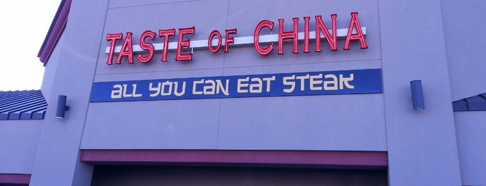 Taste Of China is one of fave places.