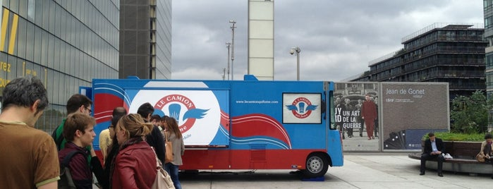 Le Camion qui Fume – BNF is one of The 15 Best Dog-Friendly Places in Paris.