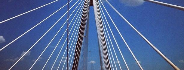 """Puente Internacional """"San Roque González de Santa Cruz"""" is one of Concurridos."""