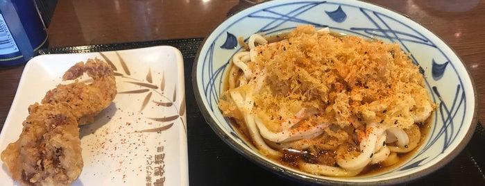 丸亀製麺 佐賀店 is one of うどん 行きたい.