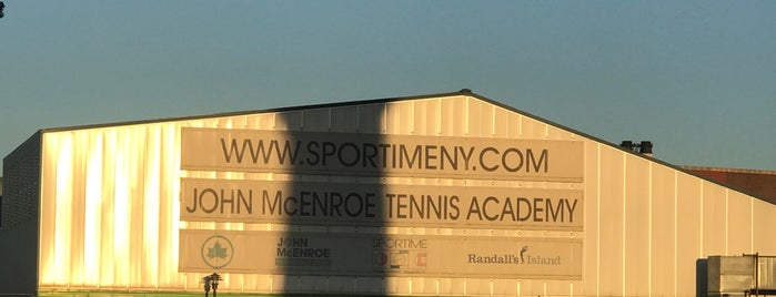 John McEnroe Tennis Academy is one of NYC Manhattan East 65th St+.