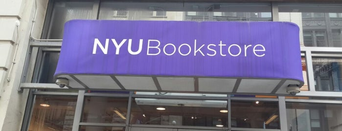 NYU Bookstore is one of A Virtual Map of NYU Student Life.