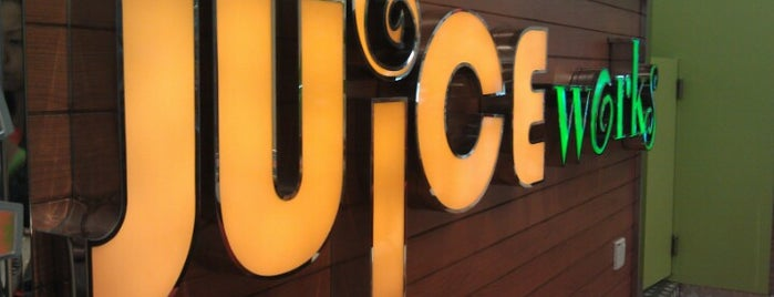 Juice Works is one of My makan places.
