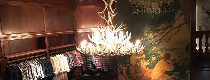 Abercrombie & Fitch is one of Guide to New York's best spots.