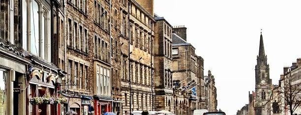 The Royal Mile is one of Edinburgh.