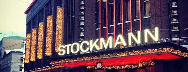 Stockmann is one of Mun paikat..