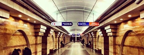 metro Spasskaya is one of метро.