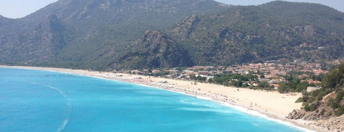 Ölüdeniz is one of South-West of Turkey.
