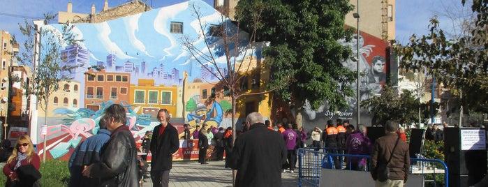 Plaza del Hospital Viejo is one of Alicante (plazas y jardines).