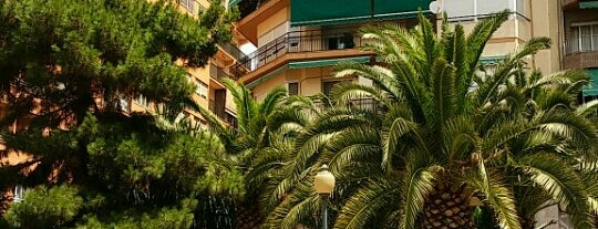 Plaza del General Mancha is one of Alicante (plazas y jardines).