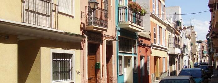 Barrio de San Anton is one of Alicante (plazas y jardines).