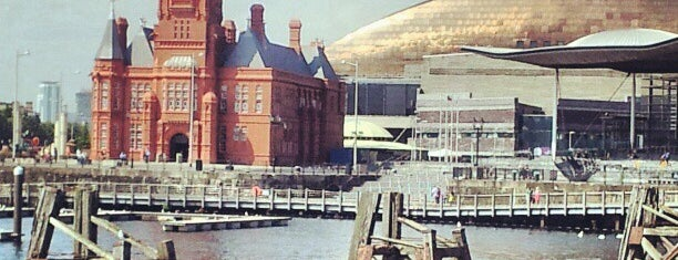 Cardiff Bay is one of Shelbyart's Favourite Places.