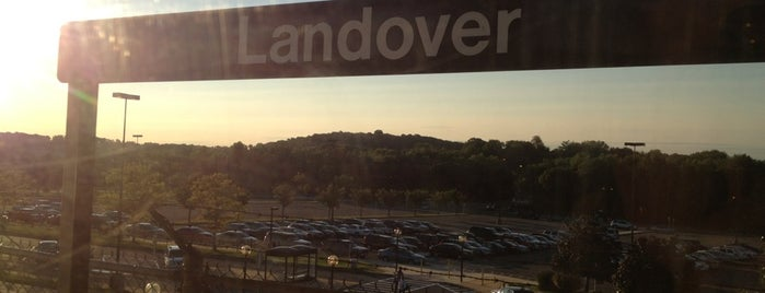 Landover Metro Station is one of WMATA Train Stations.