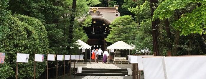 白旗神社 is one of 神奈川県鎌倉市の神社.