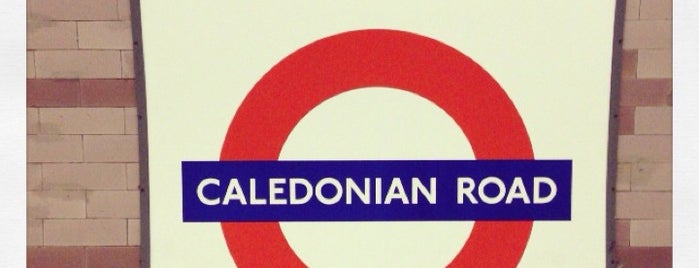 Caledonian Road London Underground Station is one of Railway stations visited.