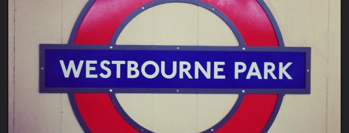 Westbourne Park London Underground Station is one of Tube Challenge.