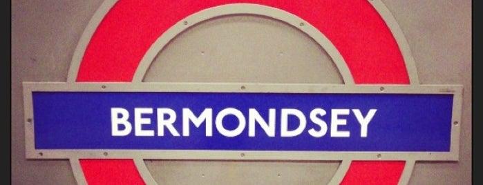 Bermondsey London Underground Station is one of Rail stations.