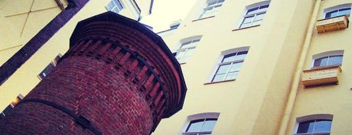 Башня Грифонов (Цифровая Башня) is one of Питер.