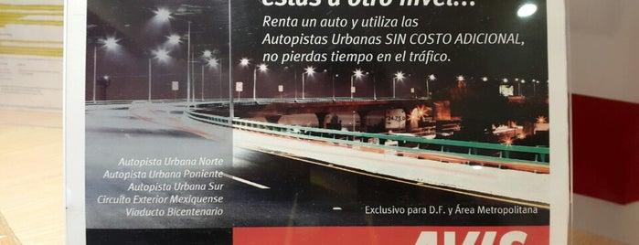 Avis Renta de Autos Mexico World Trade Center is one of Ciudades.