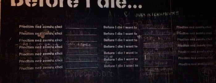 Before I Die Wall is one of Europa.
