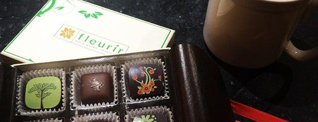 Fleurir Hand Grown Chocolates is one of crash course: dc.