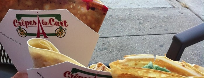 Crepes a la Cart is one of Offbeat's favorite New Orleans restaurants.