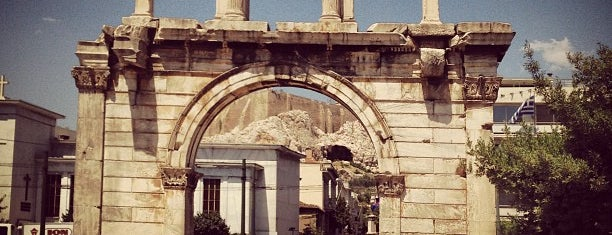 Hadrian's Arch is one of Parthenon.