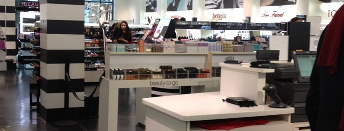 SEPHORA is one of Square One.