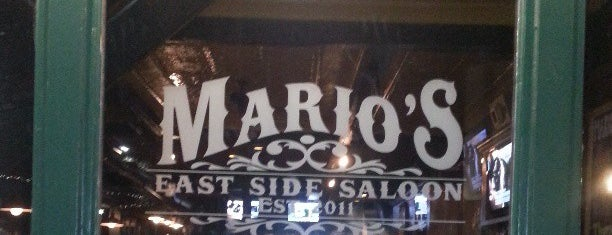 Mario's East Side Saloon is one of Restaurants in and around East Pittsburgh.