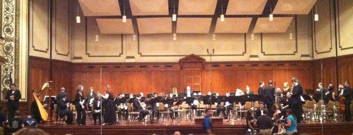 Springfield Symphony Hall is one of Western Mass Faves.