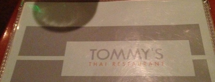 Tommy's Thai is one of GreenFax Around Town.