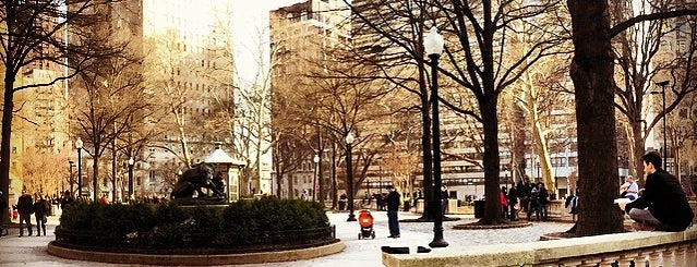 Rittenhouse Square is one of Alyssa's Philly Life.
