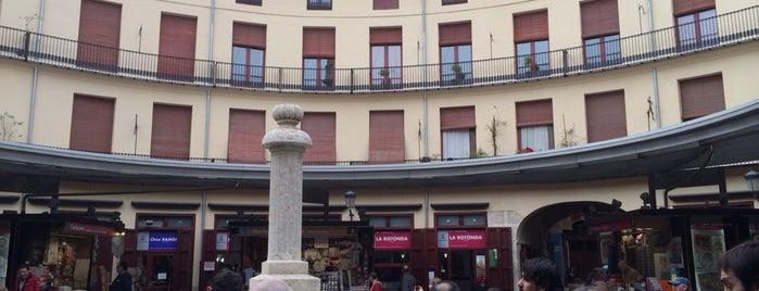 Plaça Redona is one of VA\LEN\CIA.